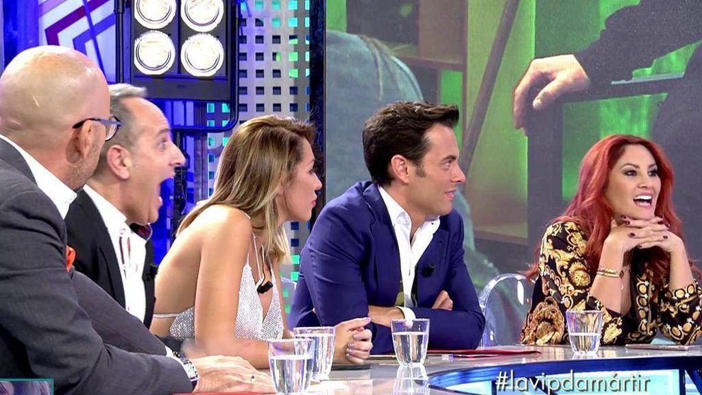 Rafa Mora acusa a Aneth de ser el topo de la familia Pantoja y Diego Arrabal especula sobre su pasado en Perú