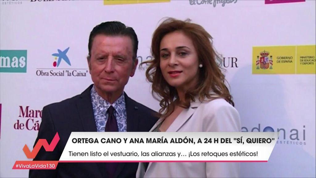 El anillo, el vestido... Todos los detalles de la boda de Ortega Cano y  Ana María Aldón