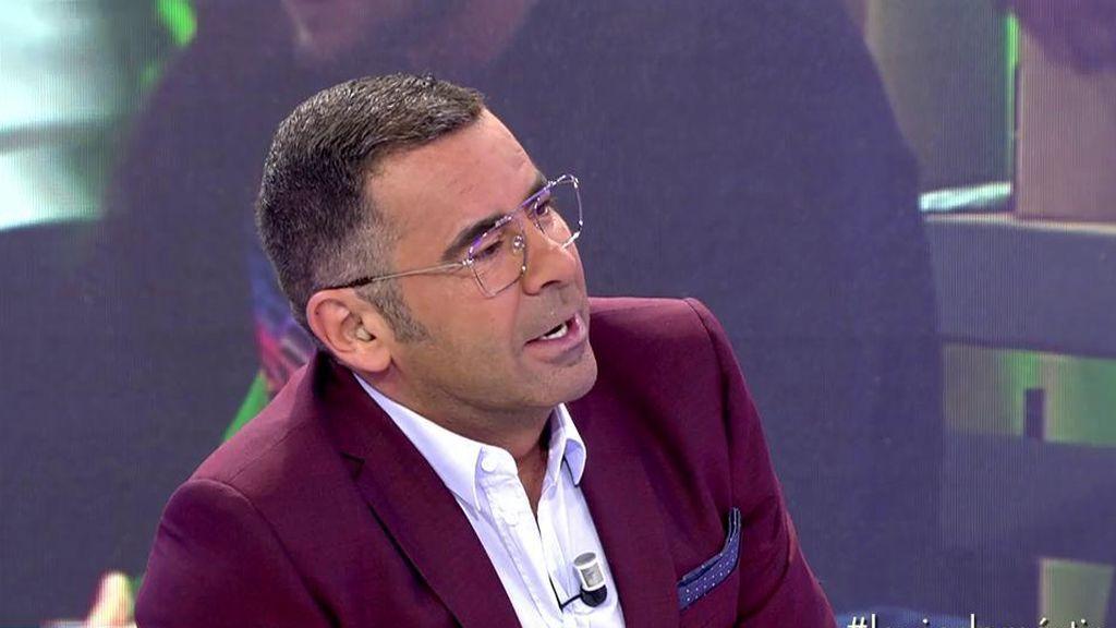 """Jorge Javier llama la atención a Rafa Mora: """"Hay veces que rozas el bochorno de manera peligrosa"""""""