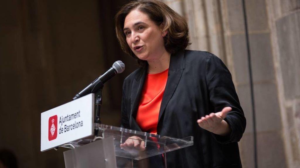 """""""Evitar la confrontación"""", el mensaje de Ada Colau por las manifestaciones de Barcelona"""