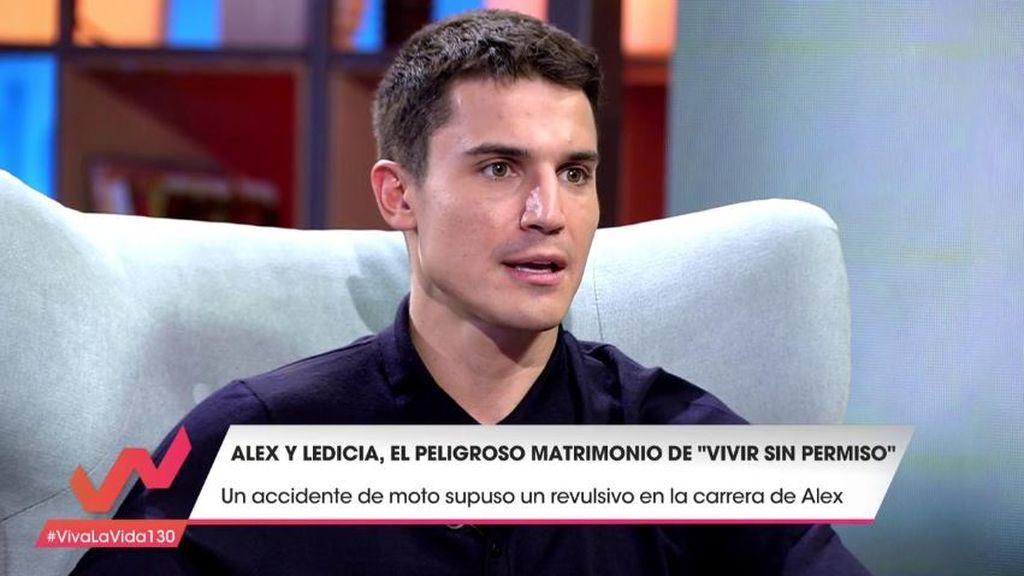 Álex González cuenta la historia del trágico accidente que cambió su vida