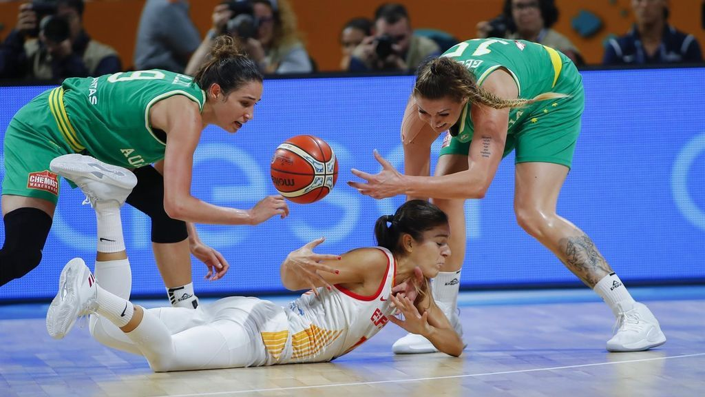 España dice adiós al Mundial tras caer eliminada ante Australia en semis (66-72)