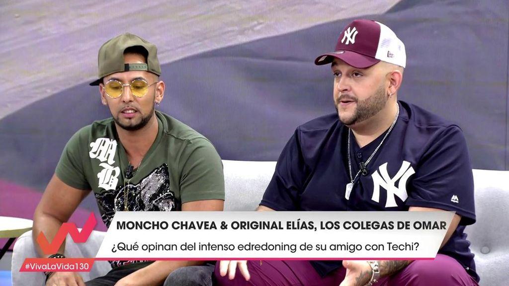 Los colegas de Omar Montes cantan un rap sobre su amigo e Isa Pantoja