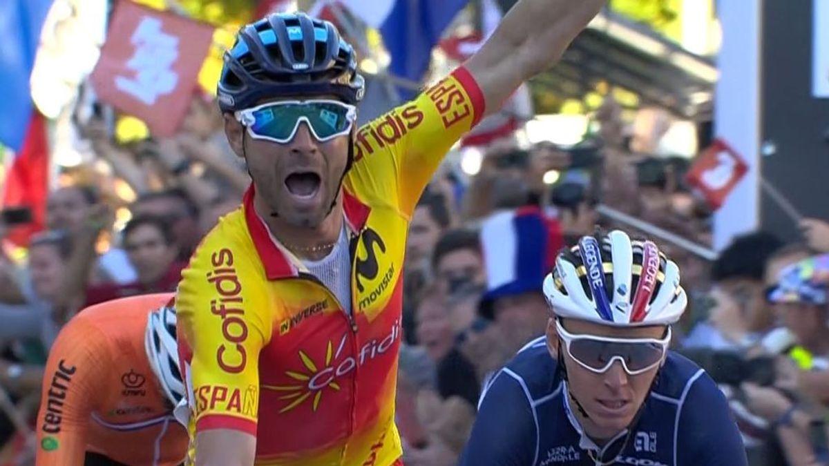 Alejandro Valverde se proclama campeón del mundo