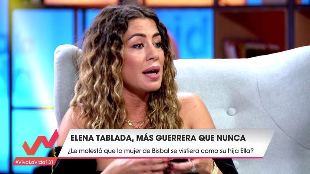 """Elena Tablada, después de la polémica de la foto de Ella: """"La relación con Bisbal es insostenible"""""""