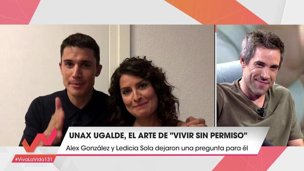 """Unax Ugalde cuenta lo que pasó en una escena con Álex González: """"Le pegué un buen puñetazo"""""""