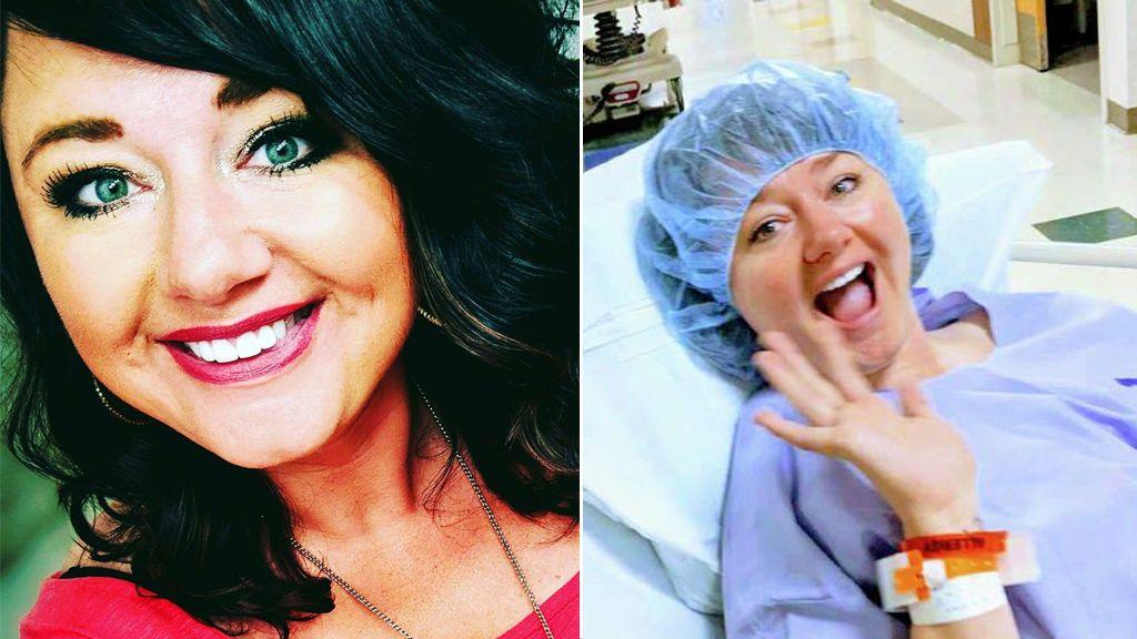 Una mujer habla dos horas con un desconocido en un bar y decide donarle un riñón