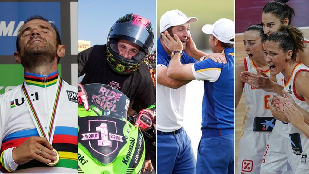 Valverde, Ana Carrasco, España de básket, Sergio García y  Jon Rahm… días de nuevos éxitos para el deporte español
