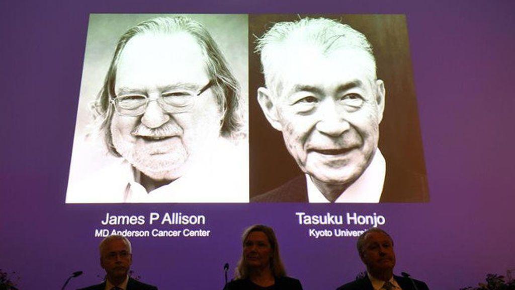 James Alisson y Tasuku Honjo, premios Nobel de Medicina 2018