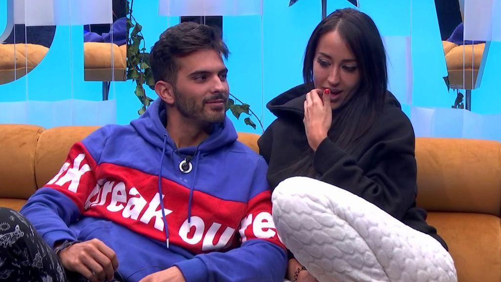 Suso y Aurah piden una hora sin cámaras romántica y se prometen exclusividad como pareja