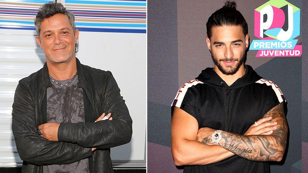 Alejandro Sanz y Maluma protagonizan la versión masculina del 'feud' entre Amaia Montero y Malú