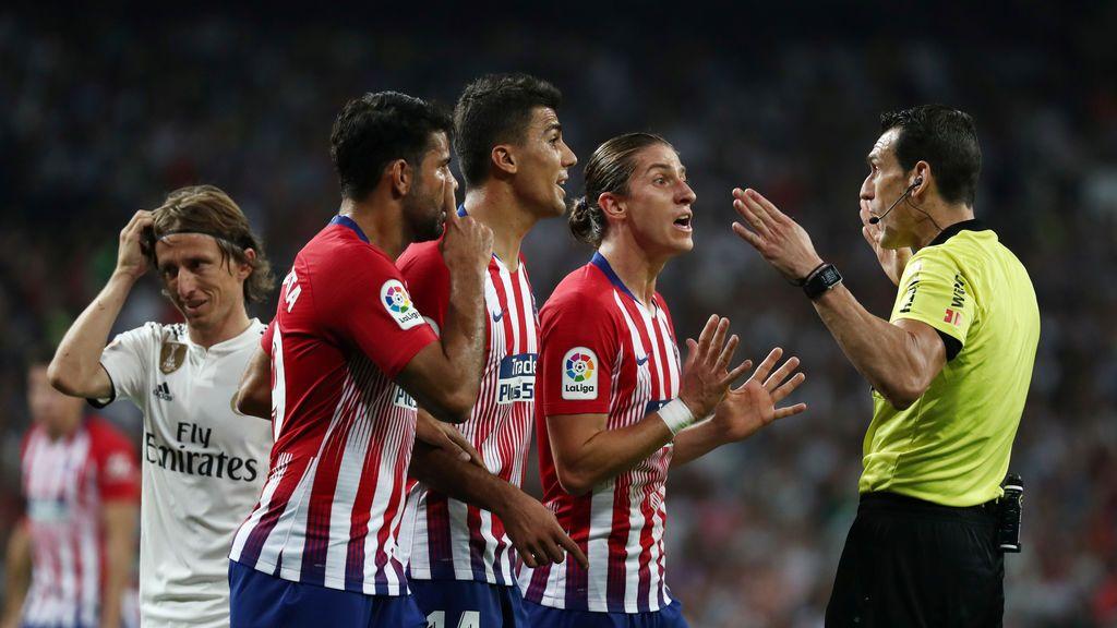 Real Madrid - Atlético de Madrid quejas árbitro