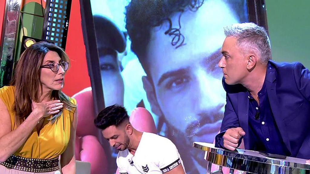 """Hernández nos transmite la polémica charla de Asraf con una chica antes de entrar en 'GH VIP': """"¿Estás preparado para lo que puede salir tuyo?"""""""