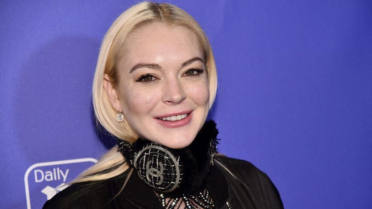 Lindsay Lohan intenta secuestrar a dos niños refugiados durante un directo de Instagram