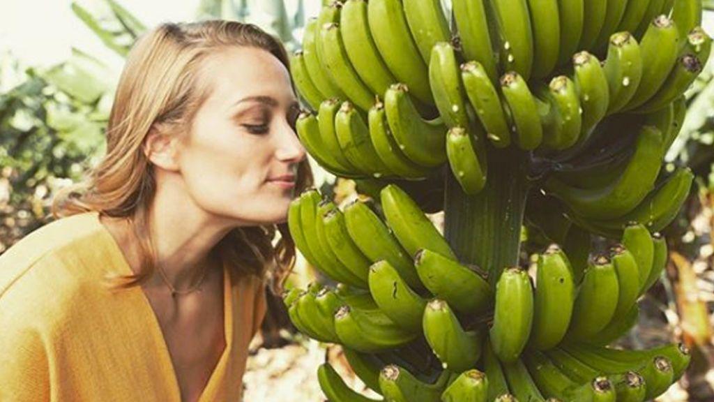 El original truco de Mireia Belmonte para conservar los plátanos durante más tiempo