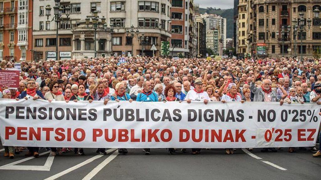 Los pensionistas seguirán saliendo todos los lunes a la calle