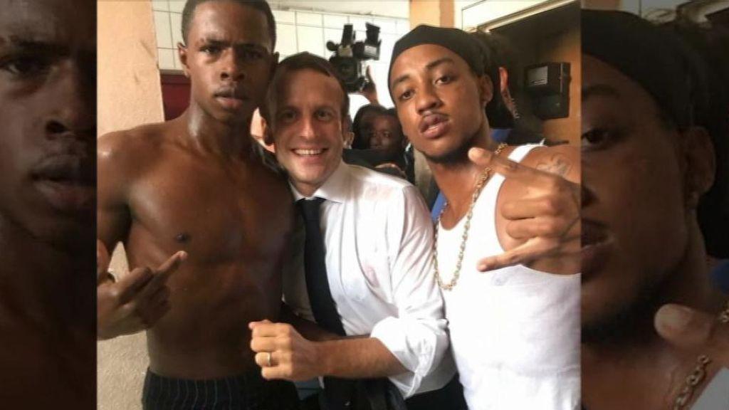 La foto del presidente que ha hecho estallar la polémica en Francia