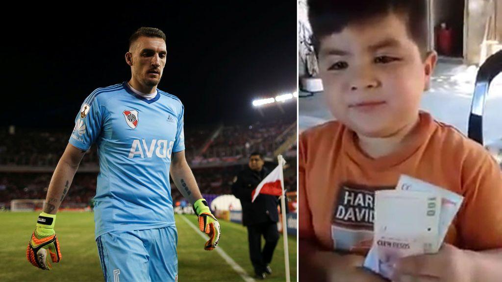 Prefirió los 'panchuques' antes que la camiseta del River y acabó recibiendo la llamada de Franco Armani