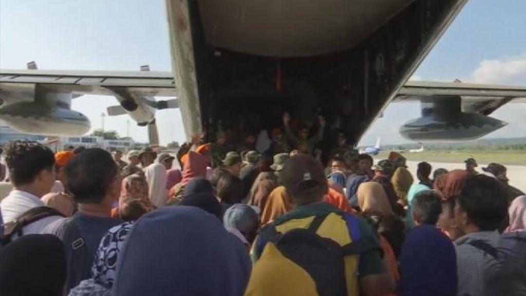 La huida después del tsunami