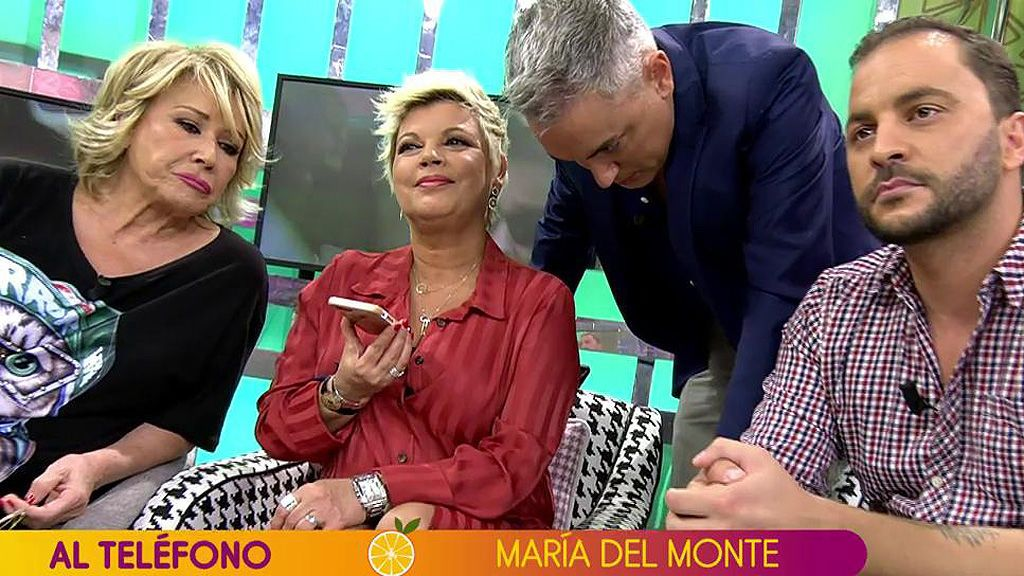 """María del Monte, ante las preguntas sobre Isa Pantoja: """"Los niños deberían estar al margen de los problemas de los mayores"""""""