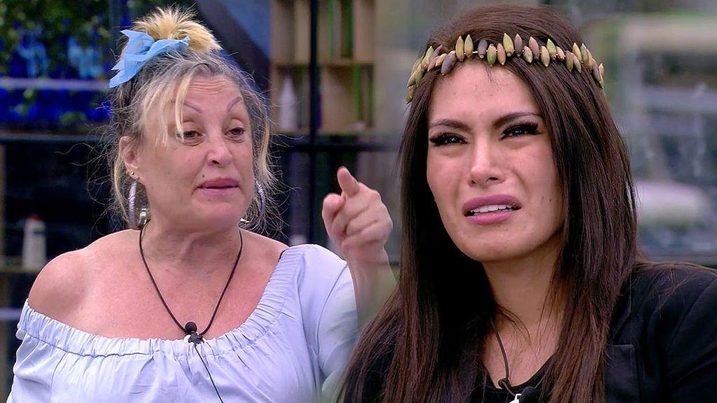 """Aramís explota inexplicablemente contra Miriam: """"¡Que te calles, diablo de los coj****!"""""""