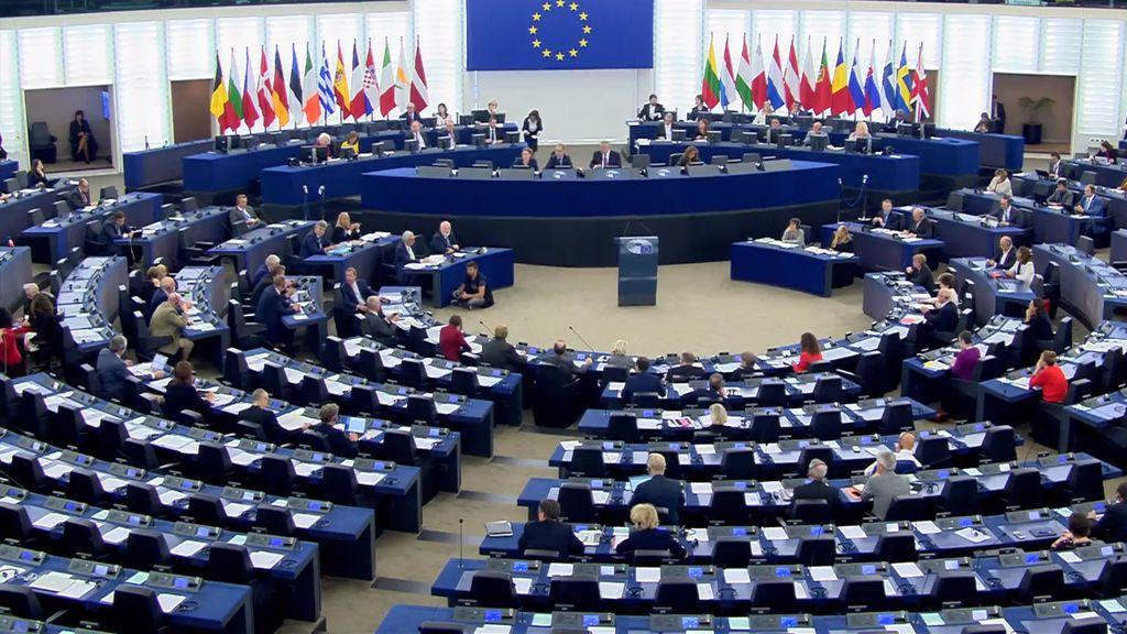 Sesión plenaria del Parlamento Europeo