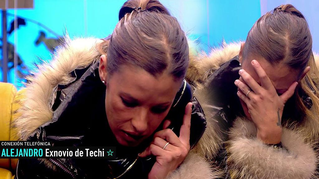 """El novio de Techi corta con ella en directo: """"No me interesas para nada en mi vida, gente como tú no quiero"""""""