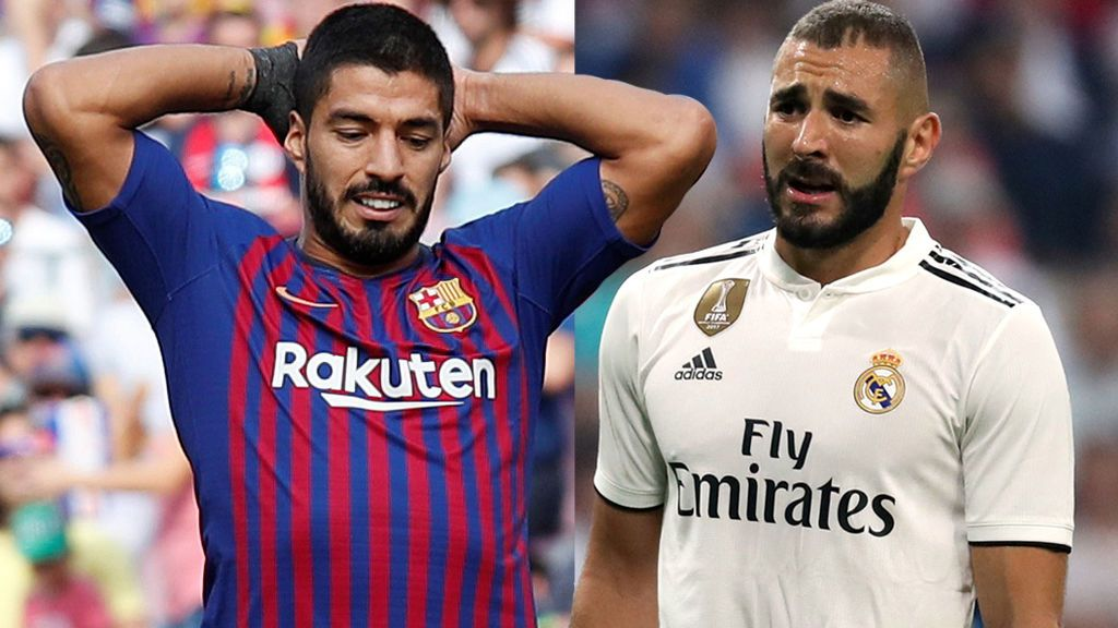 ¿Quién está peor: Benzema o Luis Suárez?