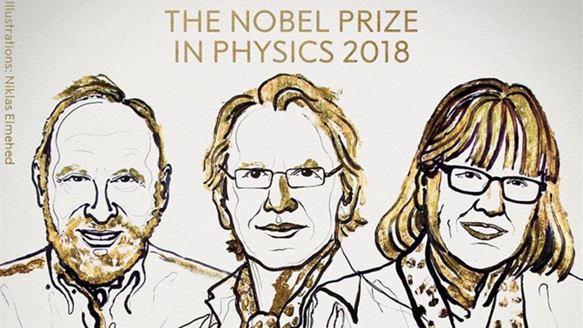 Conceden el Nobel de física a una mujer por primera vez en 55 años