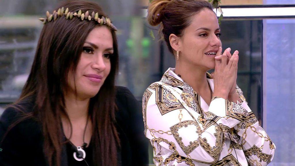 Los concursantes de 'GH VIP 6' consiguen el baño y la lavadora gracias a una conversación íntima entre Miriam y Mónica