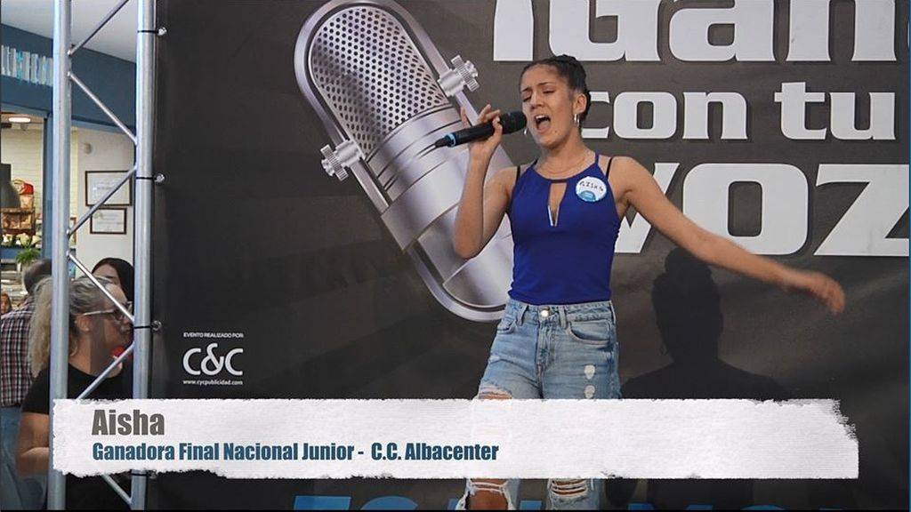 ¡Ha ganado con su voz! Aisha se corona como ganadora nacional junior