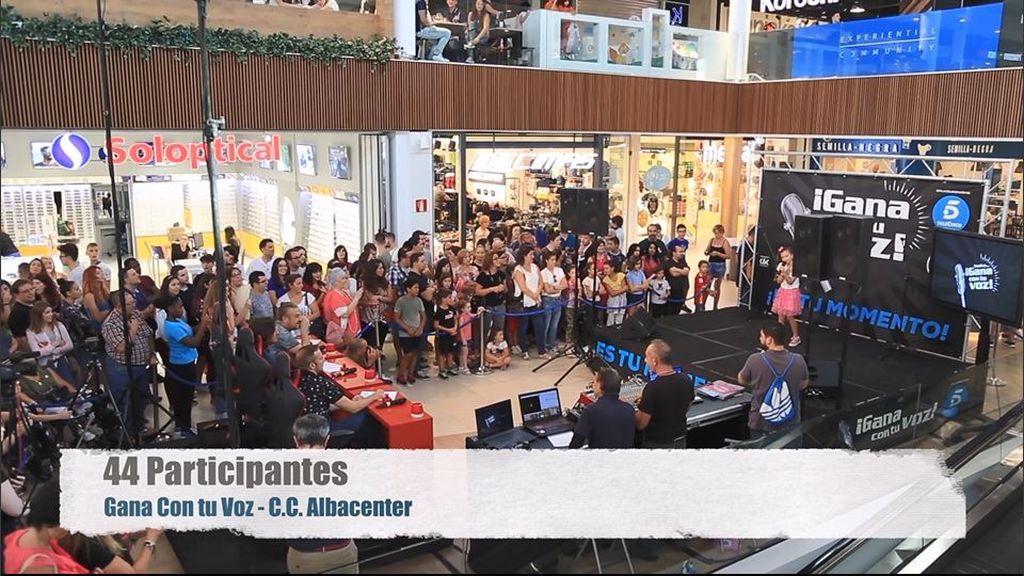 No te pierdas el evento de 'Gana con tu voz' en Albacenter