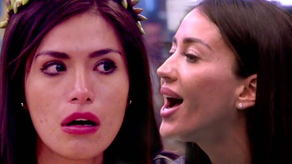 La última bronca por la comida termina con Miriam Saavedra llorando y a gritos con Aurah
