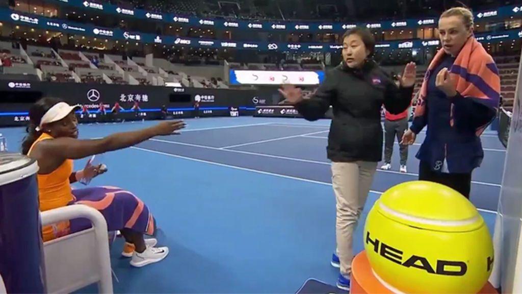 """La discusión que avergüenza al tenis: """"Esa perra trató de pegarme"""""""