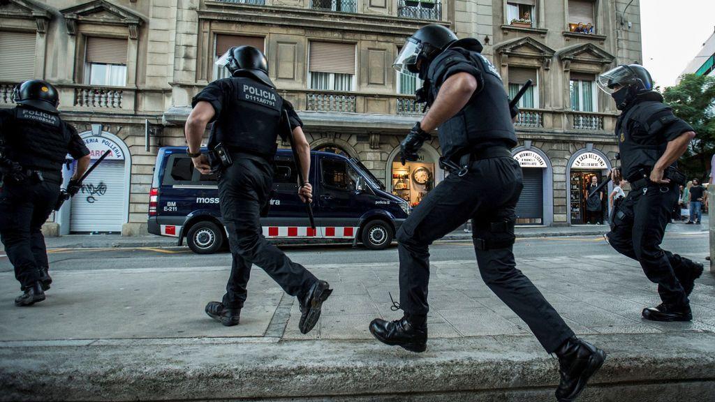 La violencia continua en Barcelona