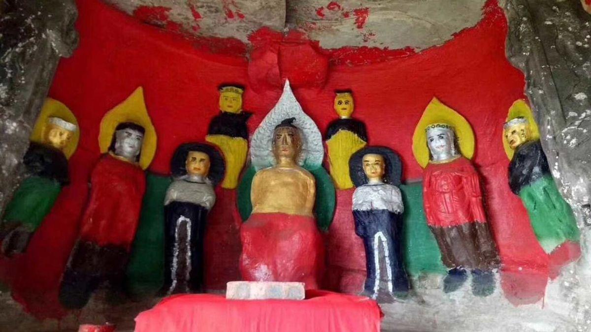 """El 'Ecce Homo' chino, """"el peor trabajo de restauración""""  de la historia"""