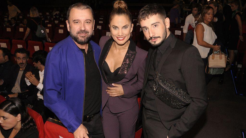 Félix Sabroso, Toni Acosta y Jau Fornés