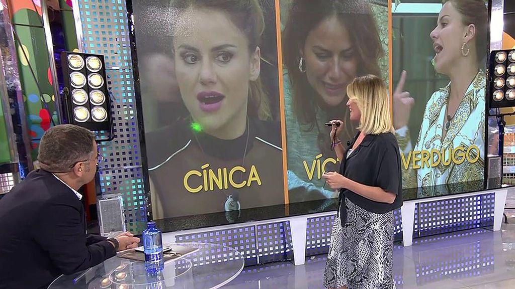 Cínica, víctima y verdugo: Cristina Soria analiza la actitud de Mónica tras su enfrentamiento con Carlos y Miriam