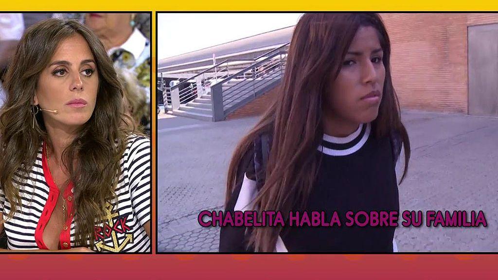 """Chabelita: """"Cuando estaba embarazada sufrí un percance y mi tío no me dejó el coche para ir al hospital"""""""