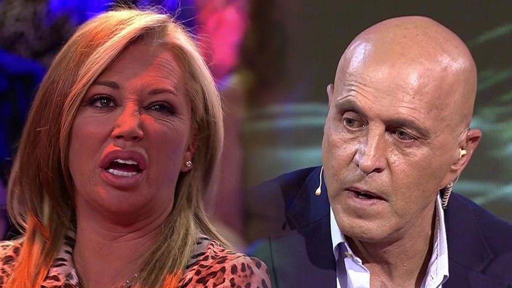 """Belén Esteban y Kiko Matamoros, enfrentados por 'GH VIP': """"Tú abandonaste y yo llegué hasta el final"""""""