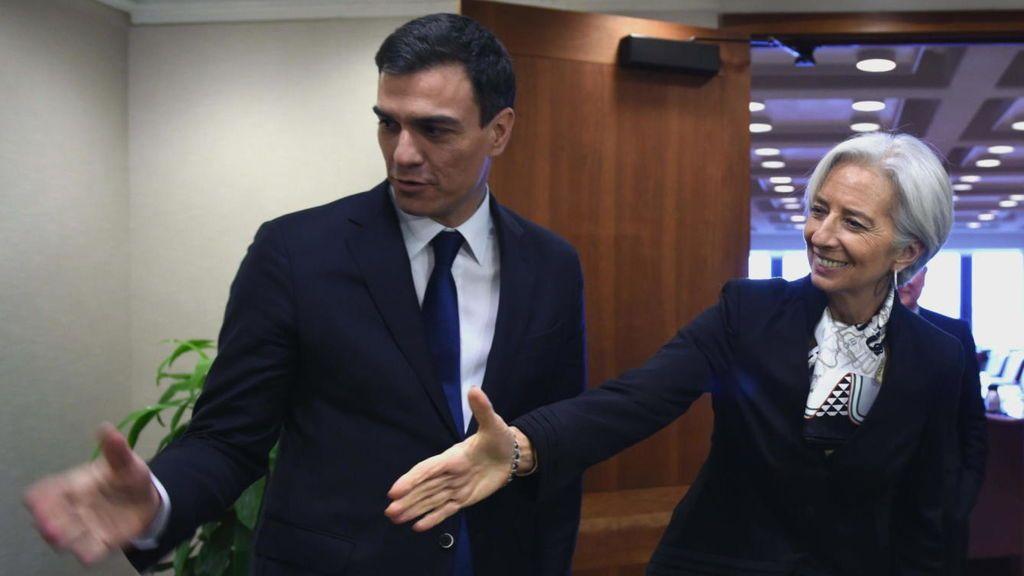 Los deberes del FMI a Pedro Sánchez: subida de IVA e impuestos ambientales y espaciales para reducir el déficit