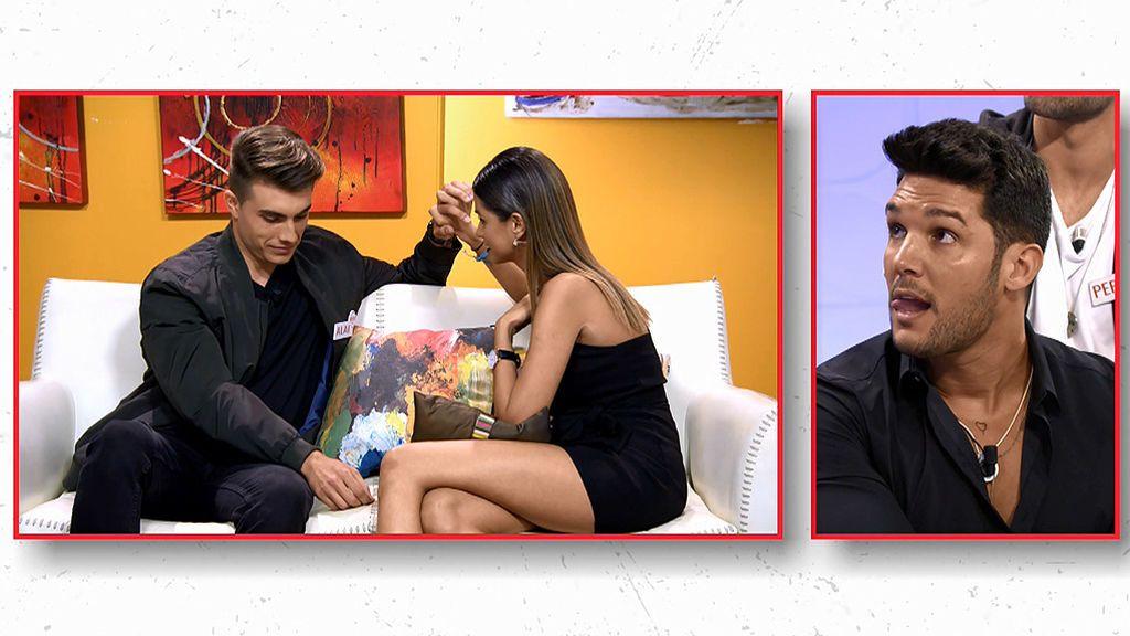 Marina le da una mala noticia a Alai en la sala vip: quiere una cita sin cámaras con Santana