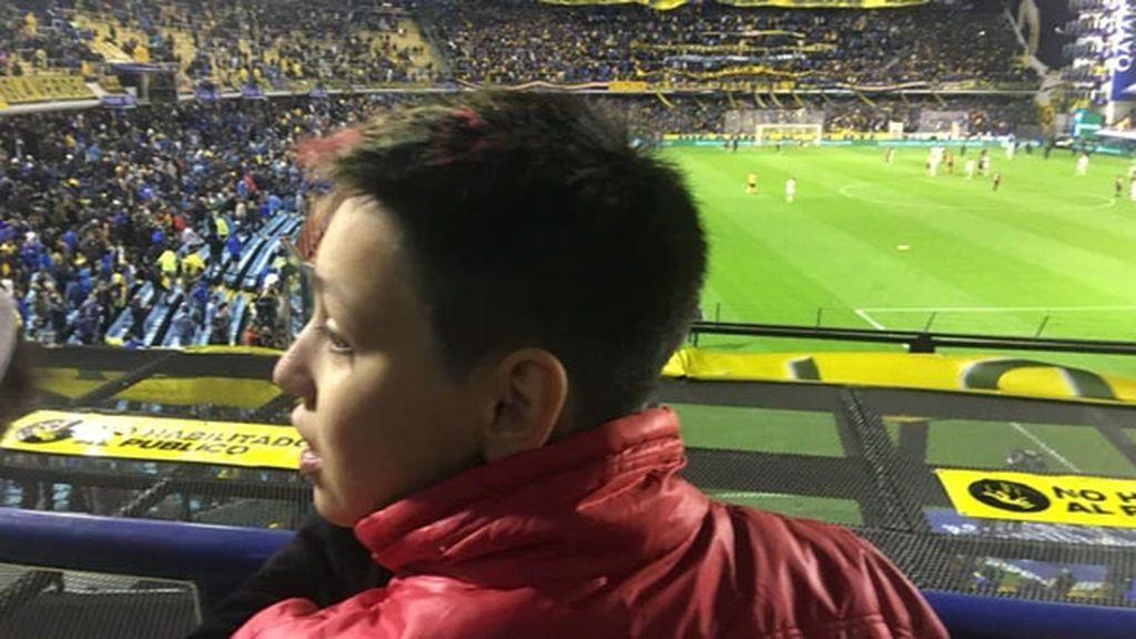 Boca Juniors cumple el sueño de Mauro, el niño transexual de 14 años que ha hecho historia en Argentina
