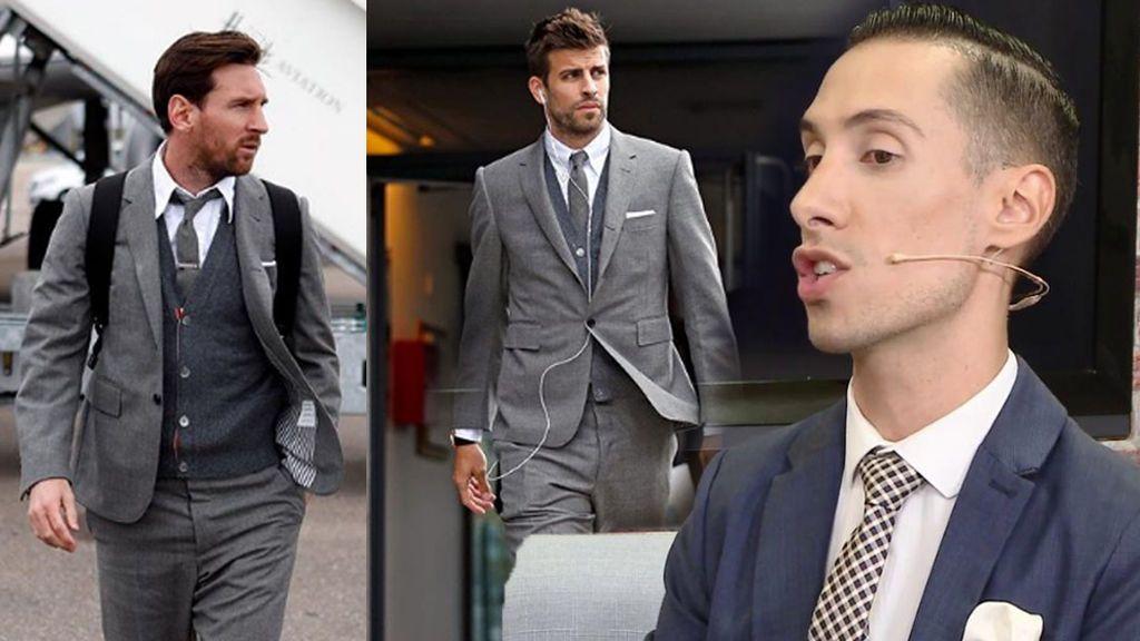Cinco mil euros por cada traje del Barça, pero su diseñador no sigue al club en las redes sociales