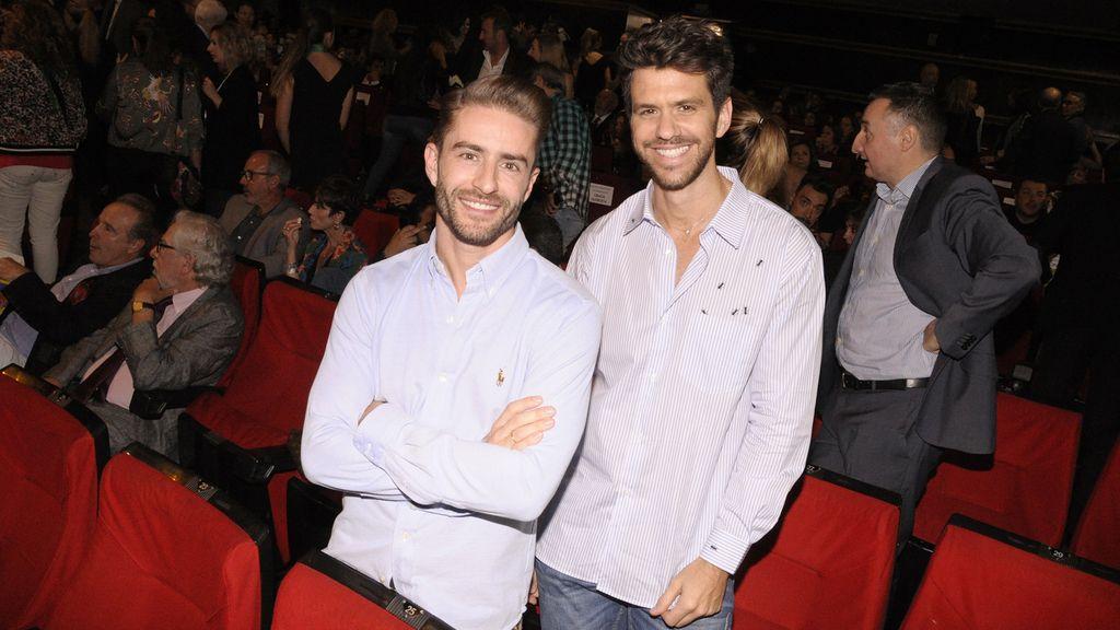 Pelayo Díaz y Andy McDougall, dos recién casados en el cine