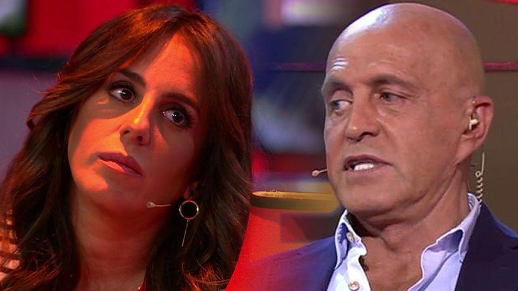 """Kiko Matamoros da su propia 'bienvenida' a Anabel Pantoja: """"Es la salida del programa más breve que se conoce"""""""
