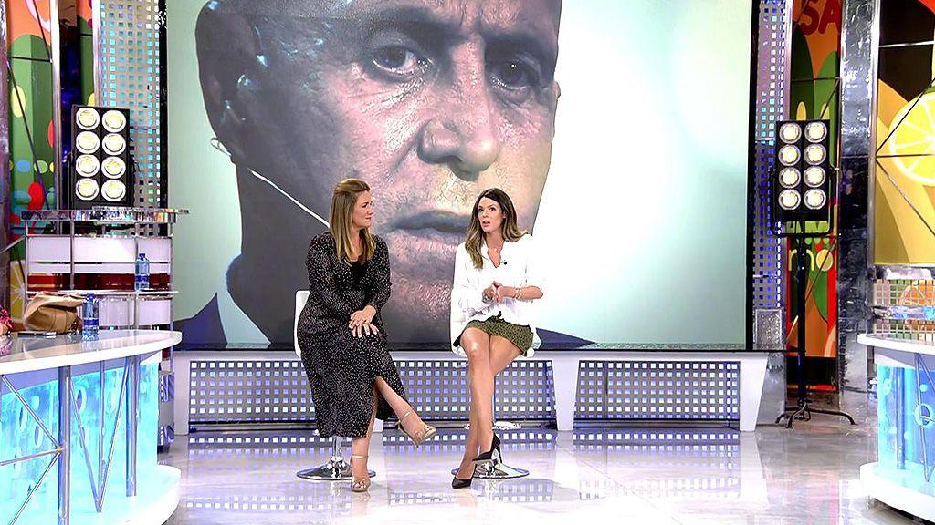 Laura Matamoros confiesa que está preocupada por su padre