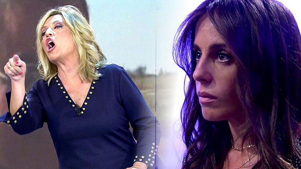 Anabel Pantoja estalla tras una información de Lydia Lozano