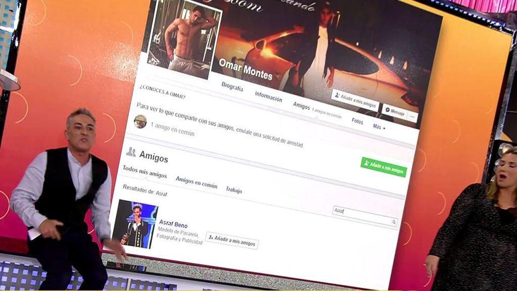 Omar Montes y Asraf Beno… ¡eran amigos en redes sociales antes de 'GH VIP'!