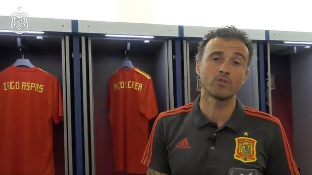 Luis Enrique da su lista de convocados para la Selección... sin Joaquín